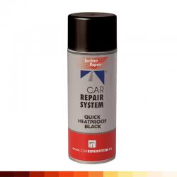 aerosol peinture chaleur noir