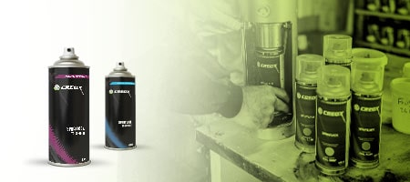 Aérosol CREOX - Peintures Autos Motos