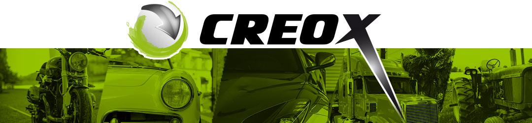logo  marque CREOX Peintures Autos Motos